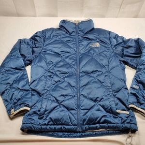 The North Face Woman's 550 Down Ski Jacket Blue